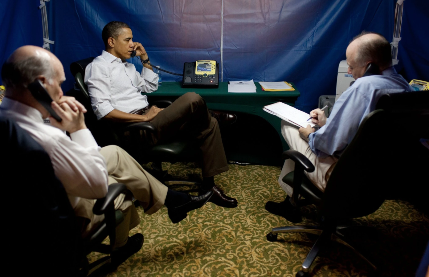 Obama's Portable Zone of Secrecy (Some Assembly Required) 이미지